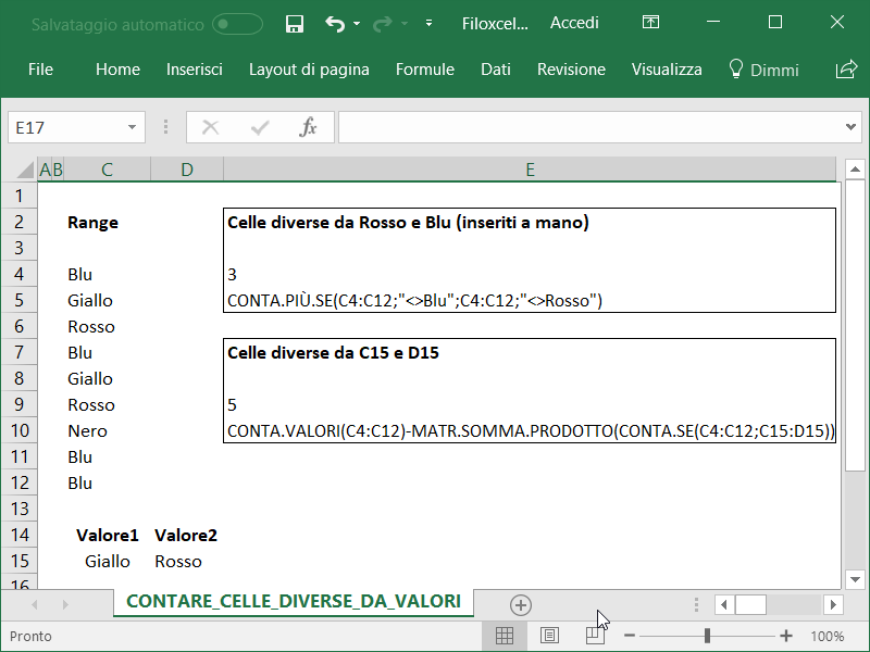 Microsoft_Excel_Contare_Celle_Diverse_Vari_Valori_1