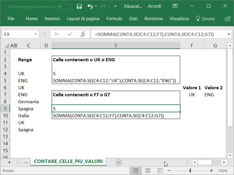 Microsoft_Excel_Contare_Diversi_Valori_1