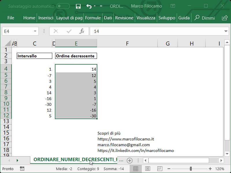 Microsoft_Excel_Ordinare_Numeri_Decrescenti_Final