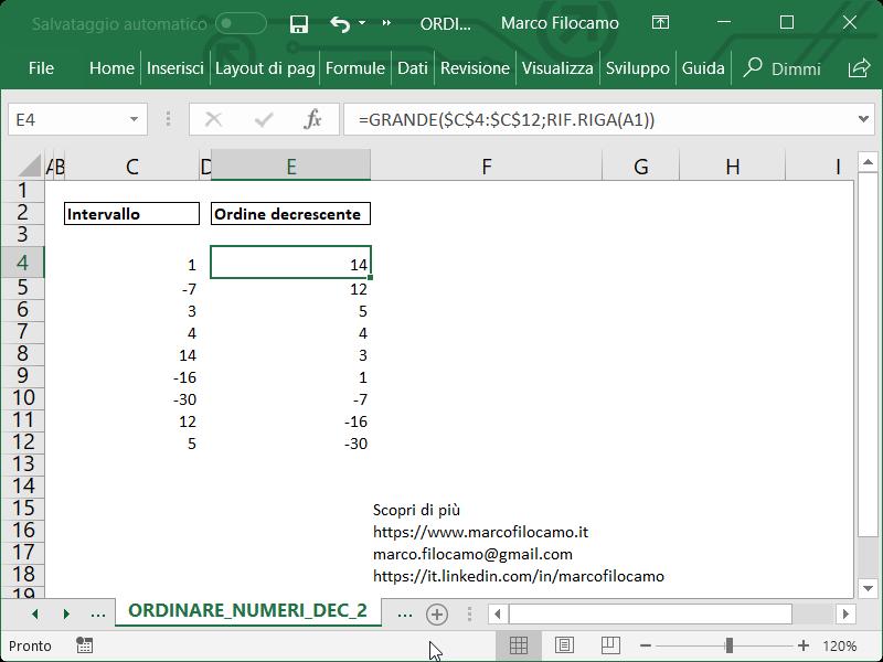 Microsoft_Excel_Ordinare_Numeri_Decrescenti_Grande_F