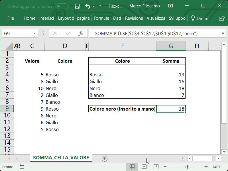 Microsoft_Excel_Somma_Celle_Condizione_Testo_2