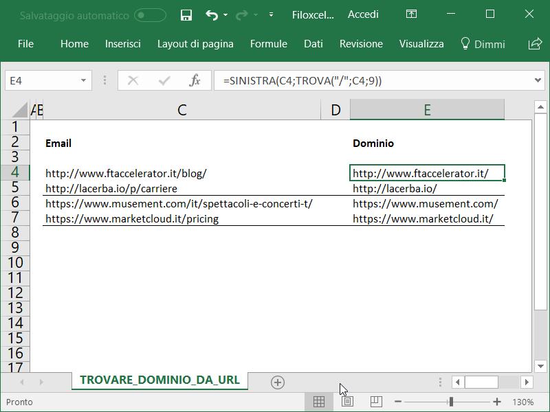 Microsoft_Excel_Trovare_Dominio_Da_URL