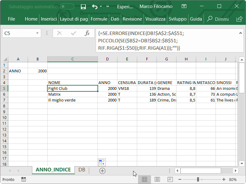 Microsoft_Excel_DB_Ricerca_Indice_Confronta_Array_SE