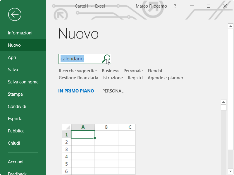 Calendario In Excel 2020.Calendario Excel 2019 Guide Microsoft Excel