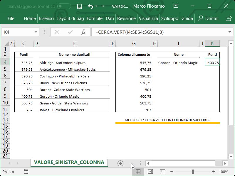 Microsoft_Excel_Ricerca_Valori_Sinistra_CercaVert