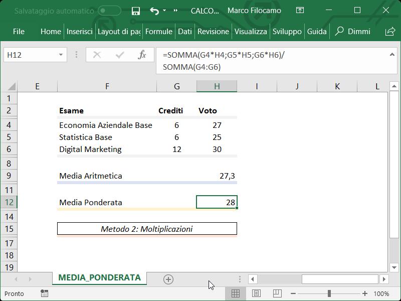 Microsoft_Excel_Media_Ponderata_Moltiplicazioni