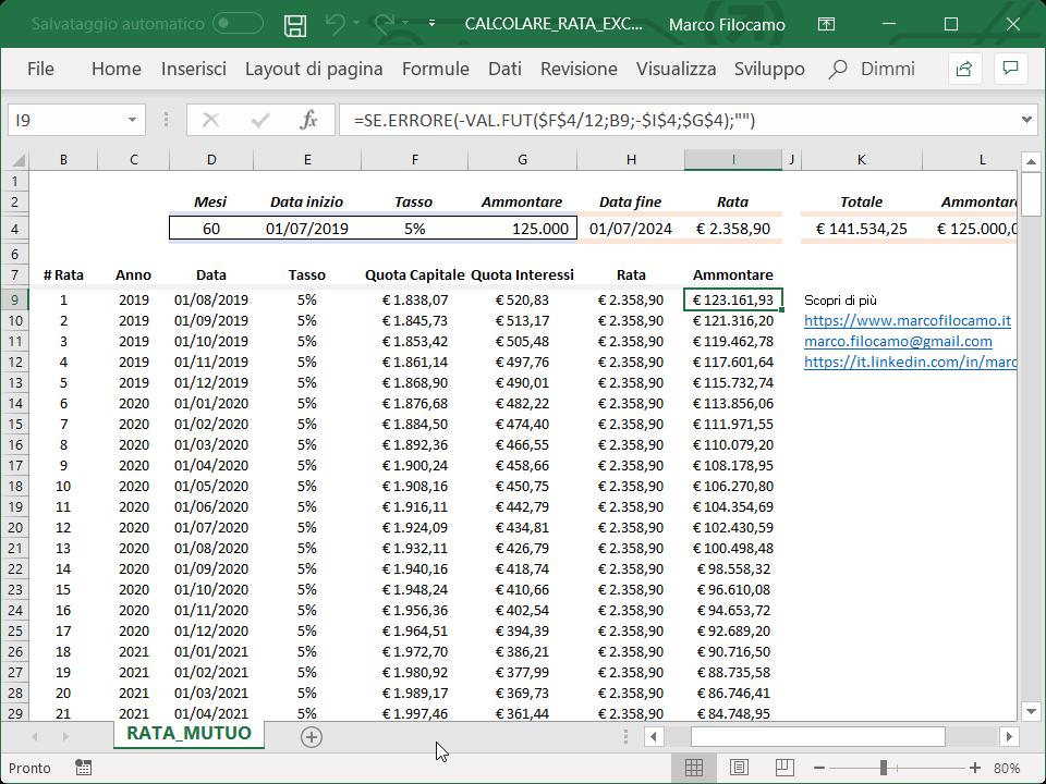 Microsoft_Excel_Calcolo_Rata_Mutuo_Ammontare_Formula