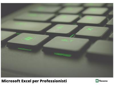 Marco Filocamo Homepage Corsi Excel Professionisti