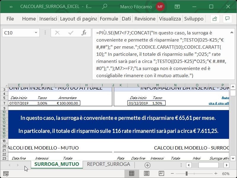 Microsoft_Excel_Calcolare_Surroga_Mutuo_Convenienza