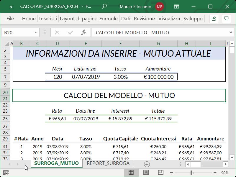 Microsoft_Excel_Calcolare_Surroga_Mutuo_Piano_Ammortamento