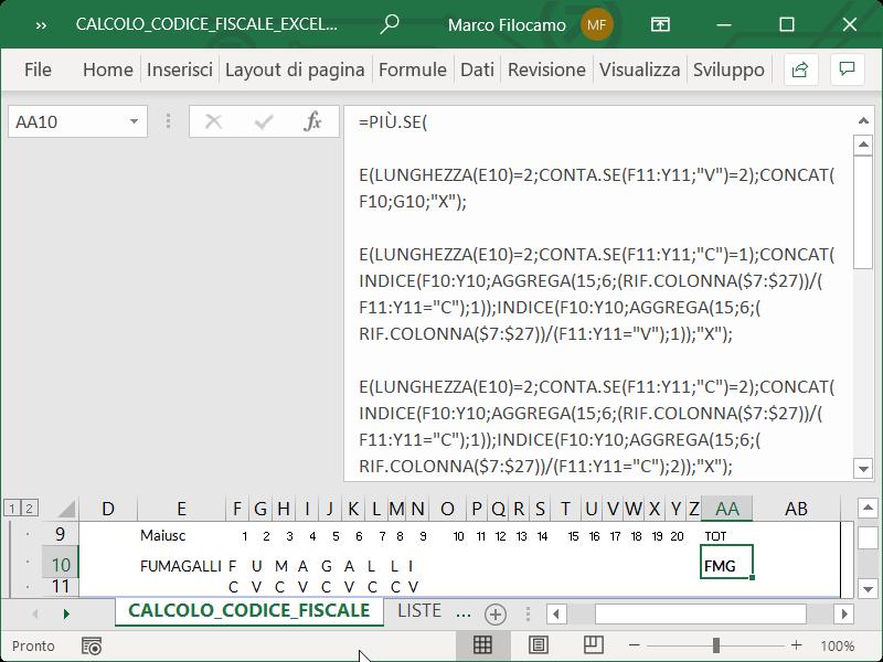 Microsoft_Excel_Calcolo_Codice_Fiscale_Cognome