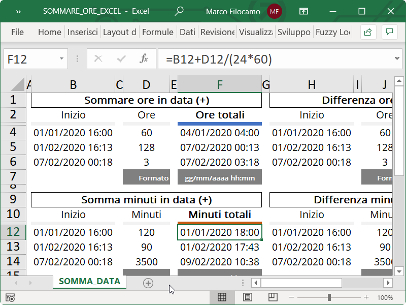 Microsoft_Excel_Somma_Minuti_Data