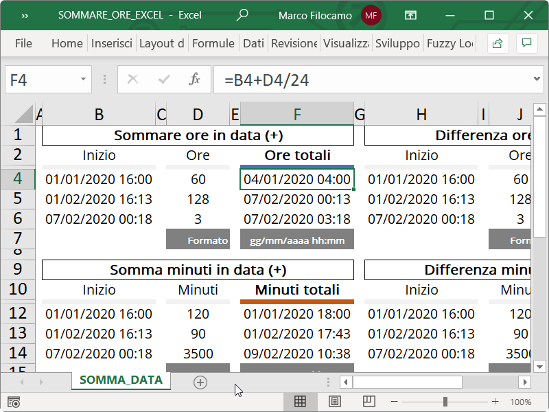 Microsoft_Excel_Somma_Ore_Data