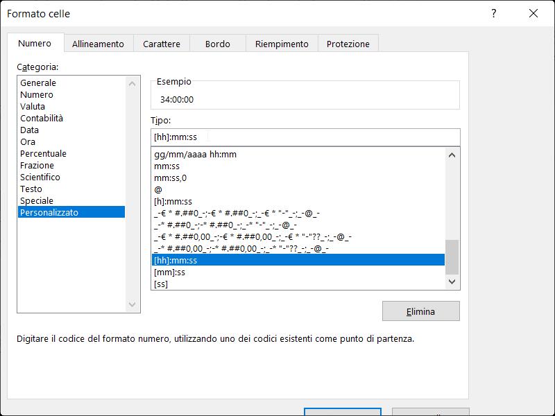 Microsoft_Excel_Sommare_Ore_Formato