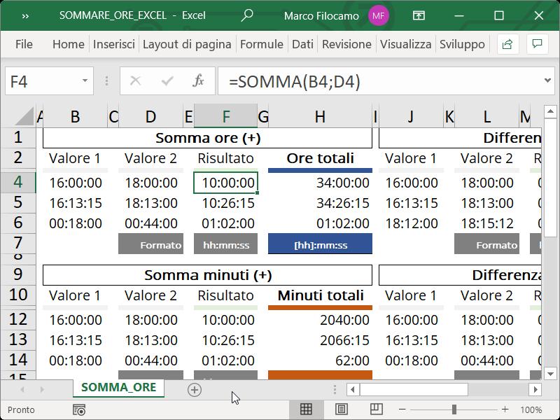 Microsoft_Excel_Sommare_Ore_Somma