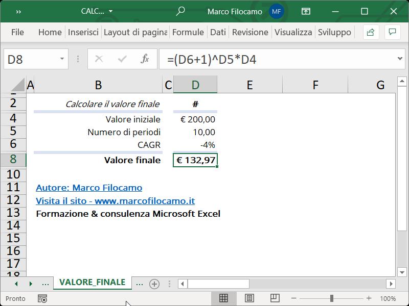 Microsoft_Excel_Calcolo_CAGR_Valore_Finale