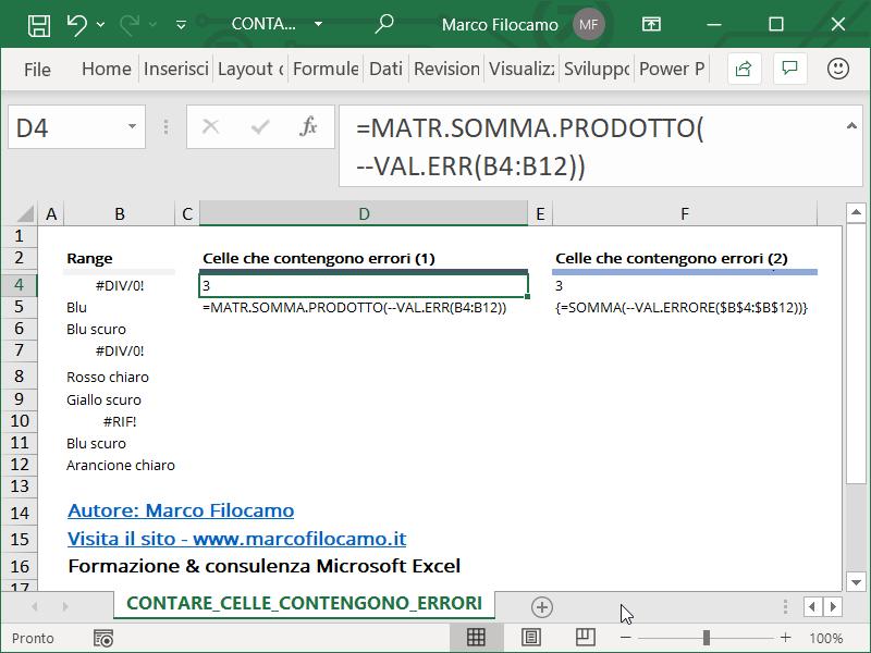 Microsoft_Excel_Contare_Celle_Errori_Excel_MATR.SOMMA.PRODOTTO