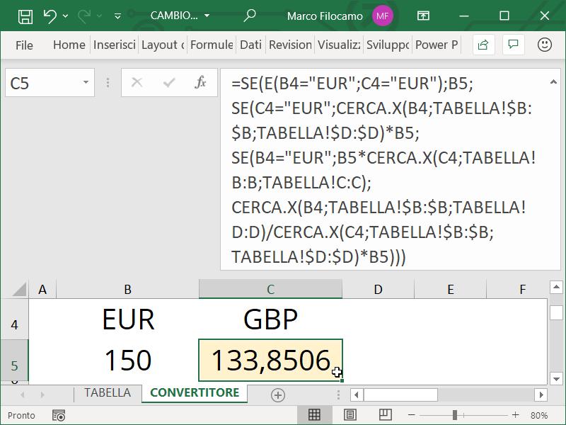 CAMBIO_VALUTA_EXCEL_FORMULA_CONVERSIONE