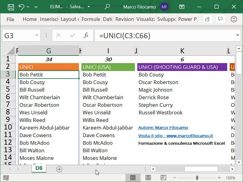 ELIMINARE_DUPLICATI_EXCEL_UNICI