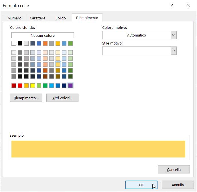 Formattazione Condizionale Excel Righe Alternate Formattazione