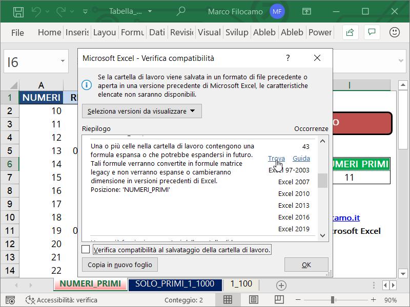 Compatibilità_Excel_Schermata_Verifica_Compatibilità_Dettaglio