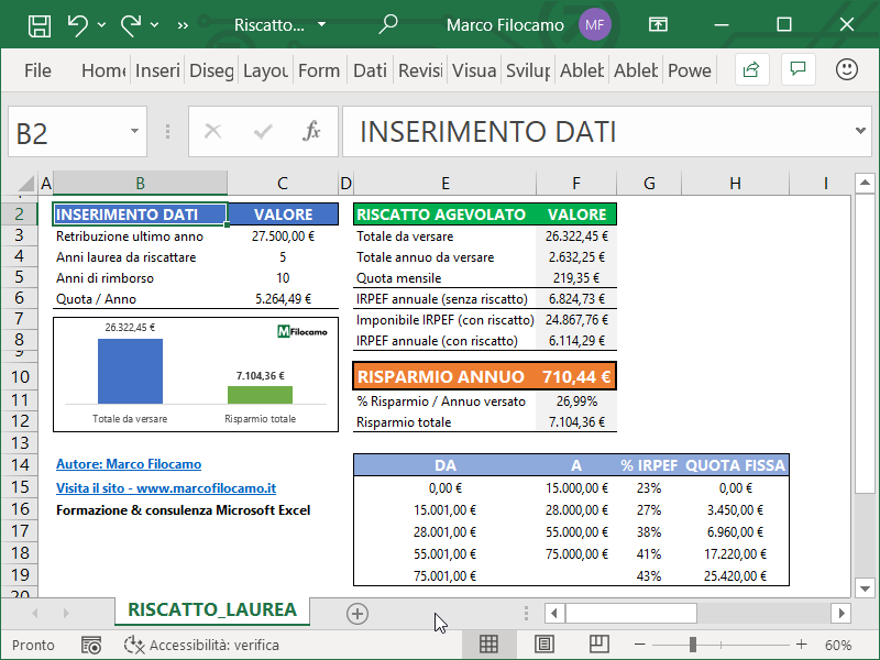 Calcolare_Riscatto_Laurea_Microsoft_Excel_Riassunto